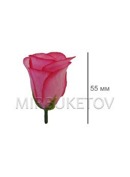 Роза бутон шелк 37-1