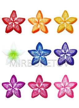 Пресс цветок атласная вставка все цвета A+