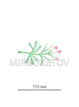 Добавка павлин с розовым напылением B103