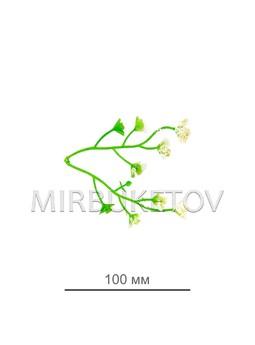 Добавка двойная с белым напылением, 100 мм, D010