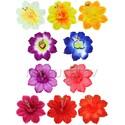 Пресс-цветок Колокольчик с тычинкой, 95 мм