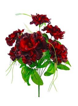 Букет роза кудрявая M022, высота 410 мм, 10 шт в упаковке.