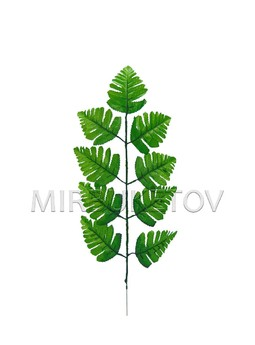 Лист папоротника на 9 листов, высота 430 мм, L236