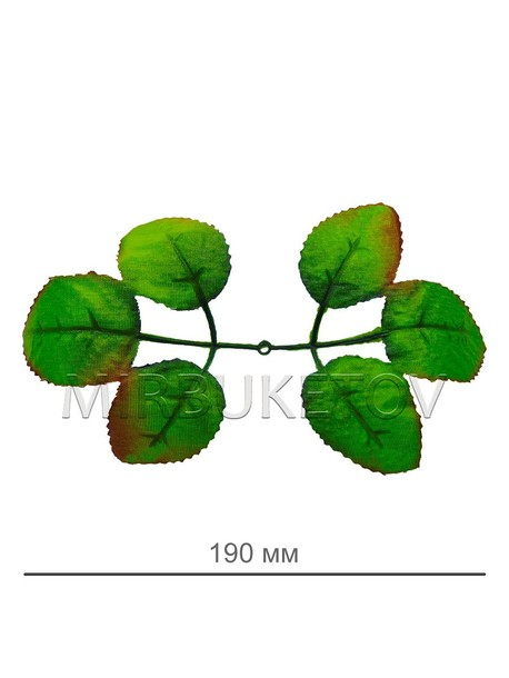 Лист под розу L035