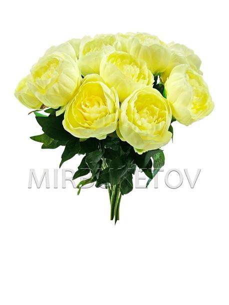 Искусственные цветы Премиум Пион на ножке Люкс, 560 мм