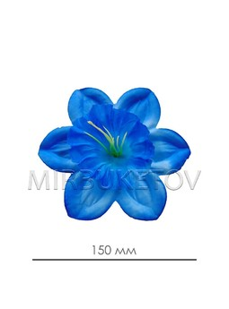 Икусственный пресс-цветок Нарцисс шелковый, 150 мм, A118