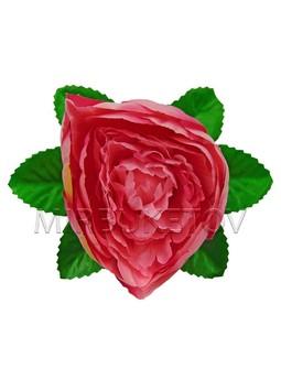 Искусственный лист подставка под розу улучшенный, 150 мм