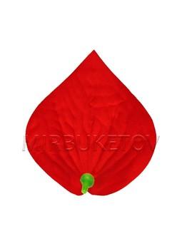 Калла бархатная красная, 130х145 мм, 127