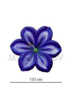 Пресс цветок фиолетовая лилия атлас E7