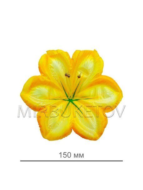 Пресс цветок лимонная лилия атлас E7