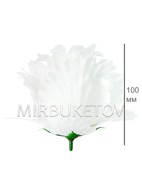 Роза бутон белый атласный гигант F25