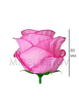 Роза бутон атласный пышный, 80 мм