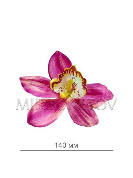 Орхидея бордовая 0072-3