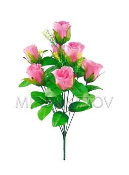 Букет роза бутон на 9 голов
