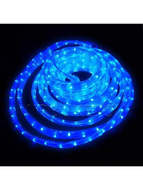 Гирлянда дюралайт LED синего цвета 10 метров