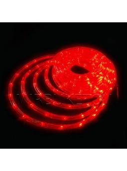 Гирлянда дюралайт LED красного цвета 20 метров
