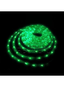 Гирлянда дюралайт LED зеленого цвета 10 метров