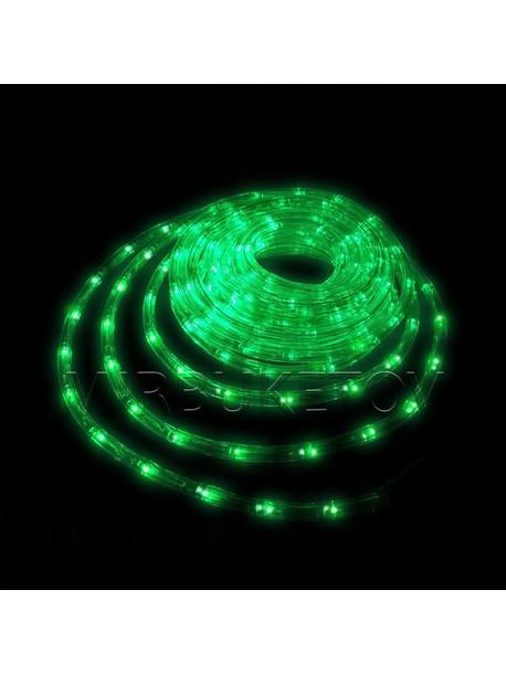 Гирлянда дюралайт LED зеленого цвета 20 метров
