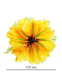 Хризантема лимонная шелковая 105 мм