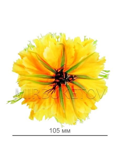 Искусственные цветы Хризантема, шелк, 105 мм