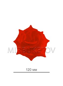 Роза атласная открытая, 120 мм, F69-2