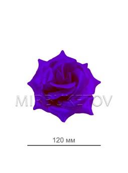 Роза атласная открытая фиолетовая 69-2