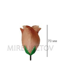 Роза-бутон шелк, 70 мм, SALE Распродажа