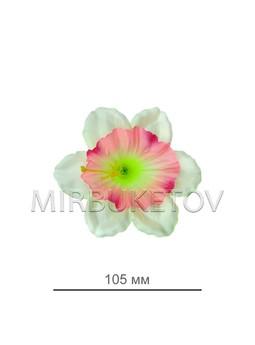 Пресс нарцисс с зеленой тычинкой, 105 мм, A20980