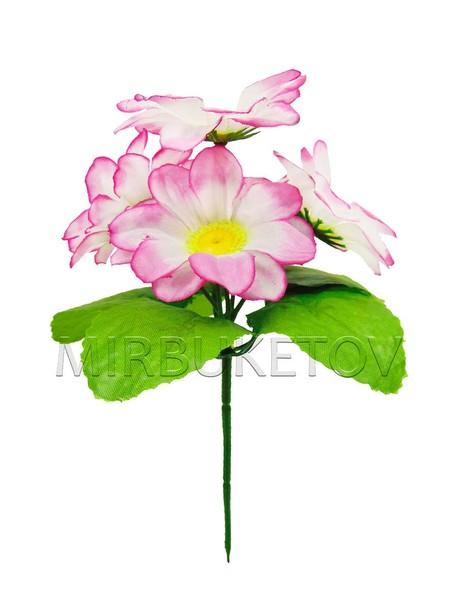 Бордюрный букет Георгины нежно-розовые на 5 голов