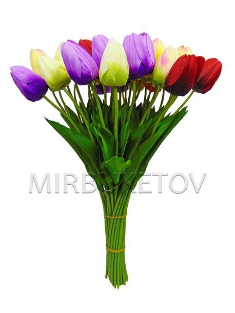 Букет искусственных тюльпанов
