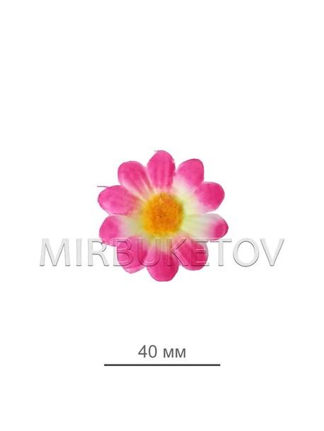 Ромашка розовая шелковая 45 мм K104