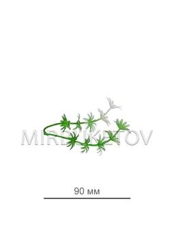 """Добавка двойная """"ресничка"""", 90 мм"""