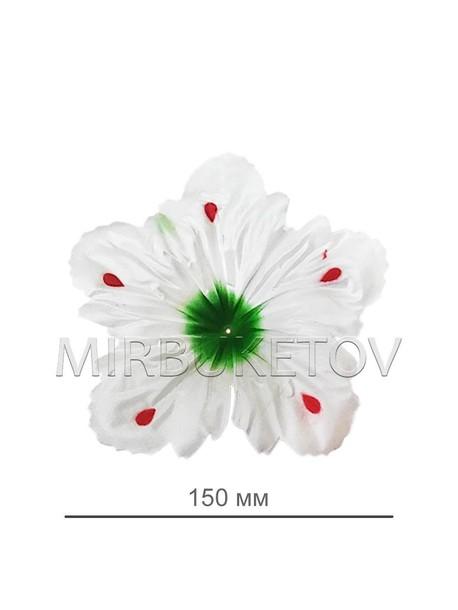Искусственные Пресс цветы Лилия, атлас, 150 мм