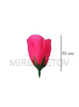 Роза бутон шелк 55 мм 37-1SALE, Распродажа