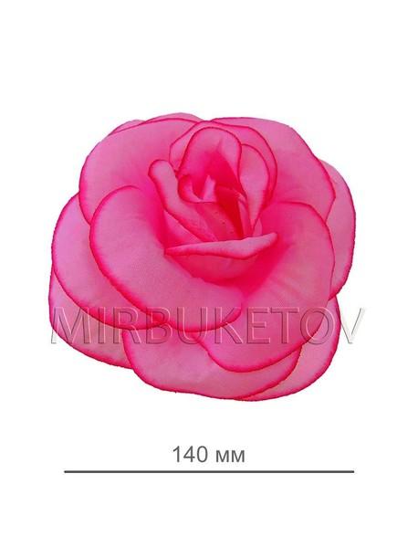 Роза шелковая открытая 015