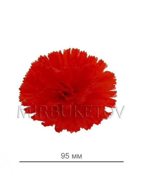 Гвоздика шелковая красная A1. Диаметр 95 мм.