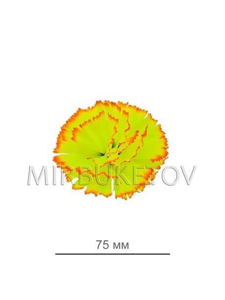Искусственные цветы Гвоздика 3 лепестка, 75 мм