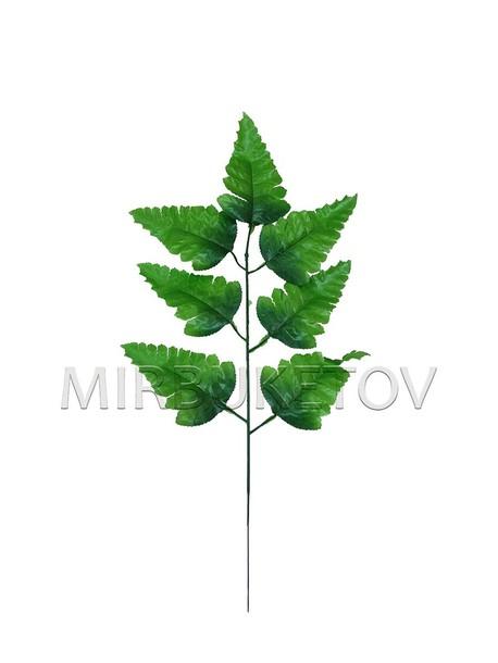 Лист папоротника на 7 листов, 430 мм, L244