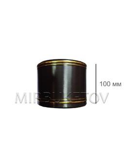 Лента водонепроницаемая с золотыми полосами, ширина 100 мм
