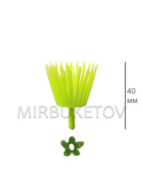"""Тычинка """"мочалка"""", 40 мм, T014"""