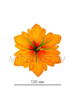 Пресс Лилия резная с тычинкой, оранжевая, 125 мм, A103