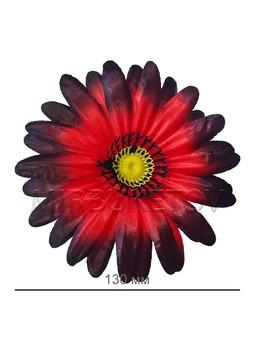 Цветок Ромашки атласный, 130 мм, F41