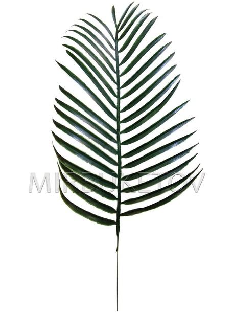 Лист пальмы пластмассовый, 490 мм