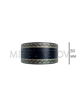 Лента для оформления букетов и венков, 50 мм, 100 ярд, S010-50