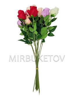 Искусственная роза на ножке, 630 мм, Lx012