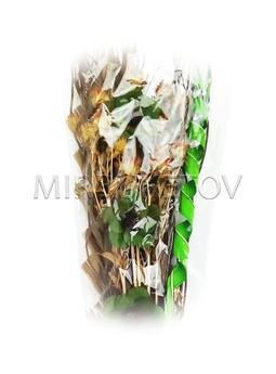 Декоративный букет из засушенных растений