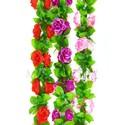 Лиана Роза с листом, 200 см, Ln005
