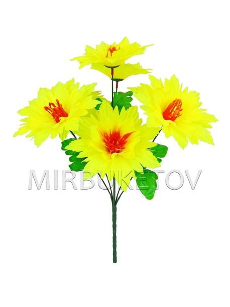 Искусственные цветы Букет Крокус, 7 голов, 410 мм