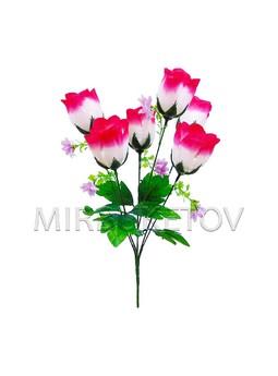 """Букет искусственной розы """"Киев"""", 6 голов, 390 мм, M702"""