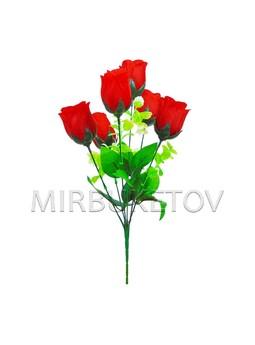 """Букет искусственной розы """"Харьков"""", 6 голов, 390 мм, M703"""